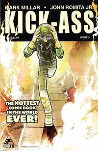 Cover Thumbnail for Kick-Ass (Marvel, 2008 series) #5