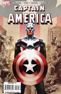 Cover Thumbnail for Captain America (Marvel, 2005 series) #45 [Direct Edition]