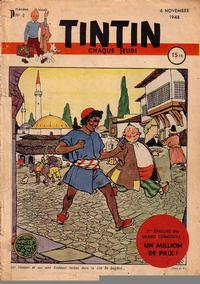 Cover Thumbnail for Journal de Tintin (Dargaud éditions, 1948 series) #2