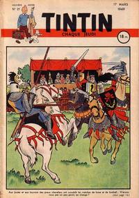 Cover Thumbnail for Journal de Tintin (Dargaud éditions, 1948 series) #21