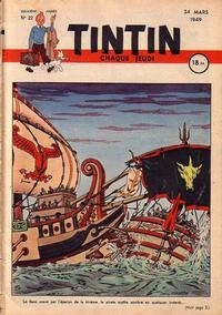 Cover Thumbnail for Journal de Tintin (Dargaud éditions, 1948 series) #22