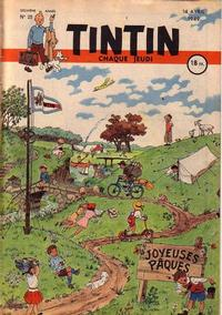 Cover Thumbnail for Journal de Tintin (Dargaud éditions, 1948 series) #25