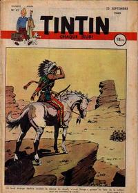 Cover Thumbnail for Journal de Tintin (Dargaud éditions, 1948 series) #47