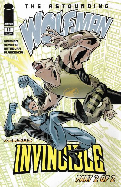 Cover for The Astounding Wolf-Man (Image, 2007 series) #11