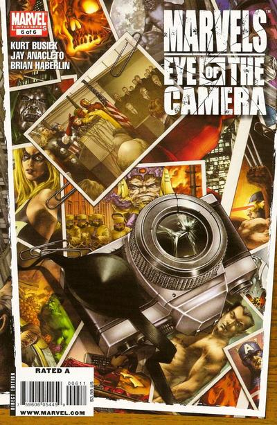 Cover for Marvels: Eye of the Camera (Marvel, 2009 series) #6
