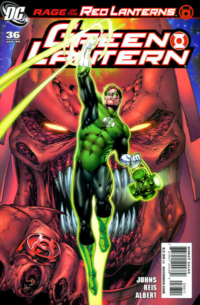 Cover for Green Lantern (DC, 2005 series) #36 [Direct Sales]