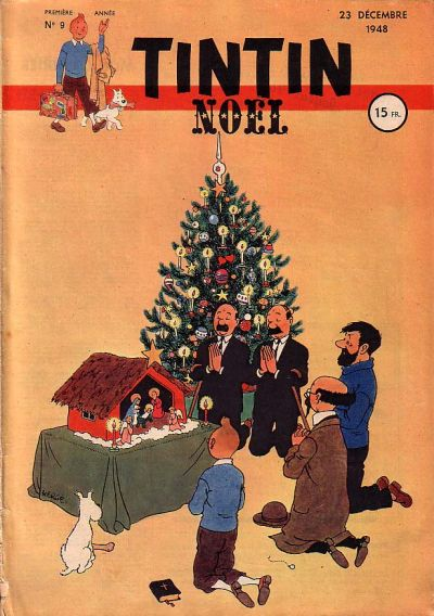 Cover for Journal de Tintin (Dargaud éditions, 1948 series) #9