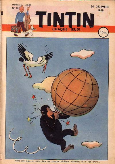 Cover for Journal de Tintin (Dargaud éditions, 1948 series) #10