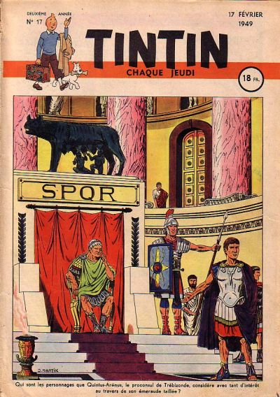 Cover for Journal de Tintin (Dargaud éditions, 1948 series) #17