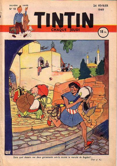 Cover for Journal de Tintin (Dargaud éditions, 1948 series) #18