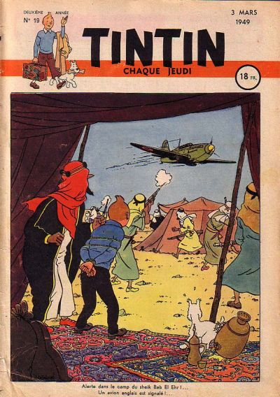 Cover for Journal de Tintin (Dargaud éditions, 1948 series) #19