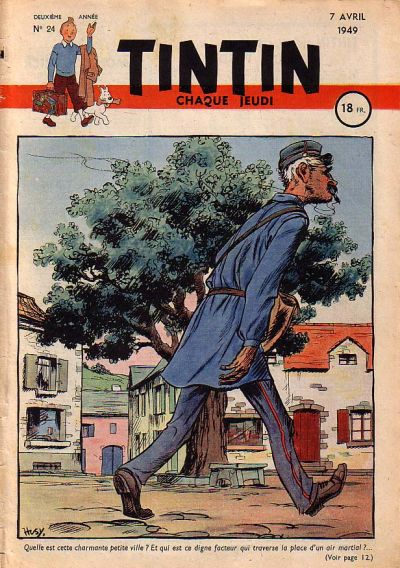 Cover for Journal de Tintin (Dargaud éditions, 1948 series) #24