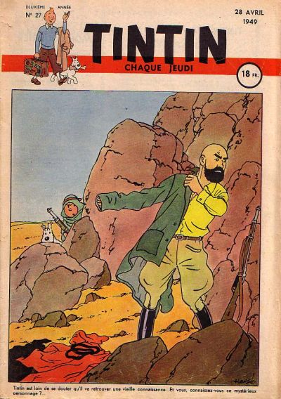 Cover for Journal de Tintin (Dargaud éditions, 1948 series) #27