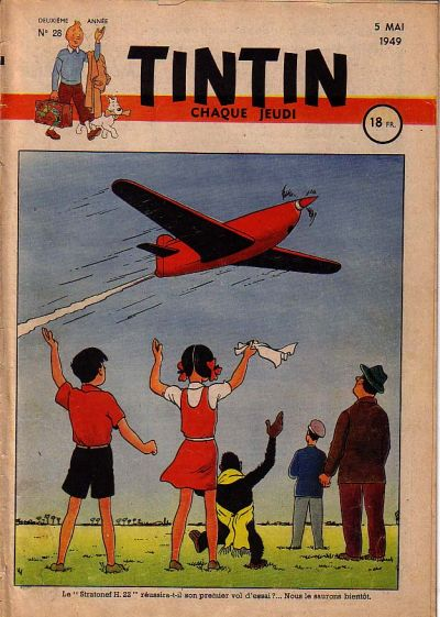 Cover for Journal de Tintin (Dargaud éditions, 1948 series) #28