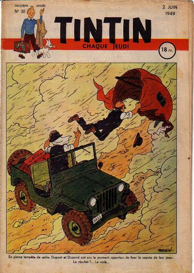 Cover for Journal de Tintin (Dargaud éditions, 1948 series) #32