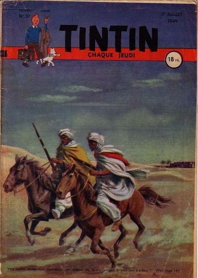 Cover for Journal de Tintin (Dargaud éditions, 1948 series) #37