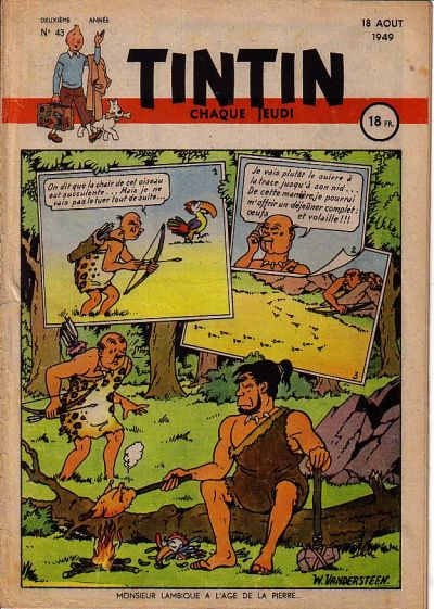 Cover for Journal de Tintin (Dargaud éditions, 1948 series) #43