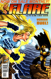 Cover Thumbnail for Flare (Heroic Publishing, 2005 series) #29