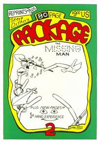 Cover Thumbnail for Steve Ditko's 80-Page Package (Robin Snyder and Steve Ditko, 1999 series) #2