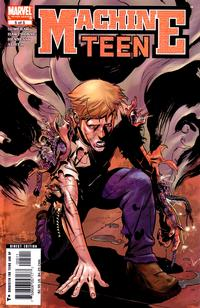 Cover Thumbnail for Machine Teen (Marvel, 2005 series) #5