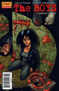 Cover Thumbnail for The Boys (Dynamite Entertainment, 2007 series) #25 [Ezquerra Variant]