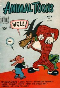Cover Thumbnail for Animal Toons (Bell Features, 1952 series) #6