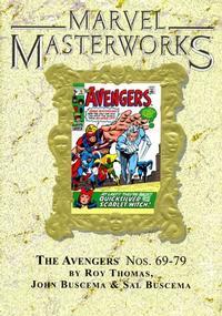 Cover for Marvel Masterworks: The Avengers (Marvel, 2003 series) #8 [Regular Edition]