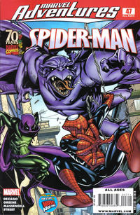 Cover for Marvel Adventures Spider-Man (Marvel, 2005 series) #47