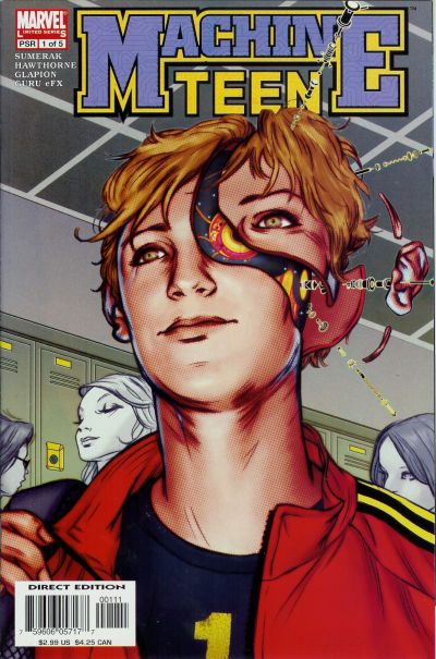 Cover for Machine Teen (Marvel, 2005 series) #1