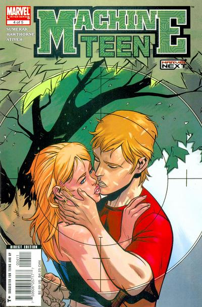 Cover for Machine Teen (Marvel, 2005 series) #4