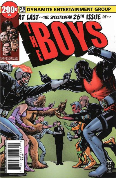 Cover for The Boys (Dynamite Entertainment, 2007 series) #26