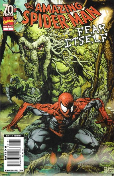 Cover for Spider-Man: Fear Itself (Marvel, 2009 series) #1