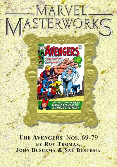 Cover for Marvel Masterworks: The Avengers (Marvel, 2003 series) #8 [Regular Edition]