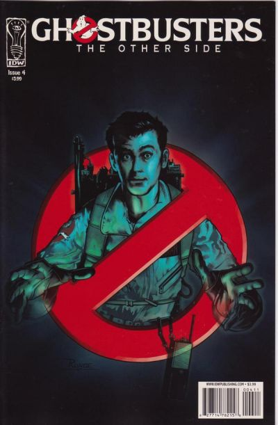 Cover for Ghostbusters: The Other Side (IDW, 2008 series) #4