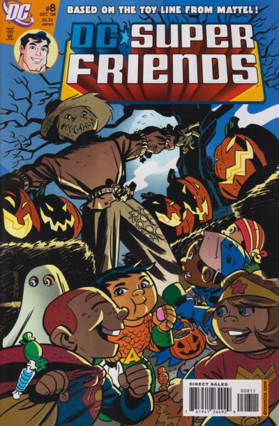 Cover for Super Friends (DC, 2008 series) #8