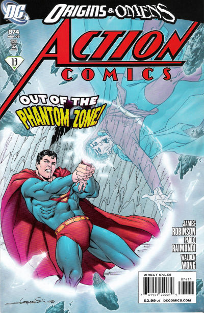 Cover for Action Comics (DC, 1938 series) #874