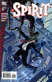 Cover Thumbnail for The Spirit (DC, 2007 series) #25