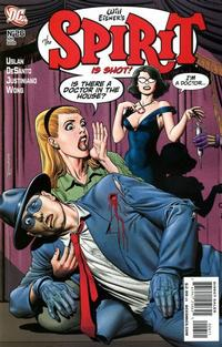 Cover for The Spirit (DC, 2007 series) #26