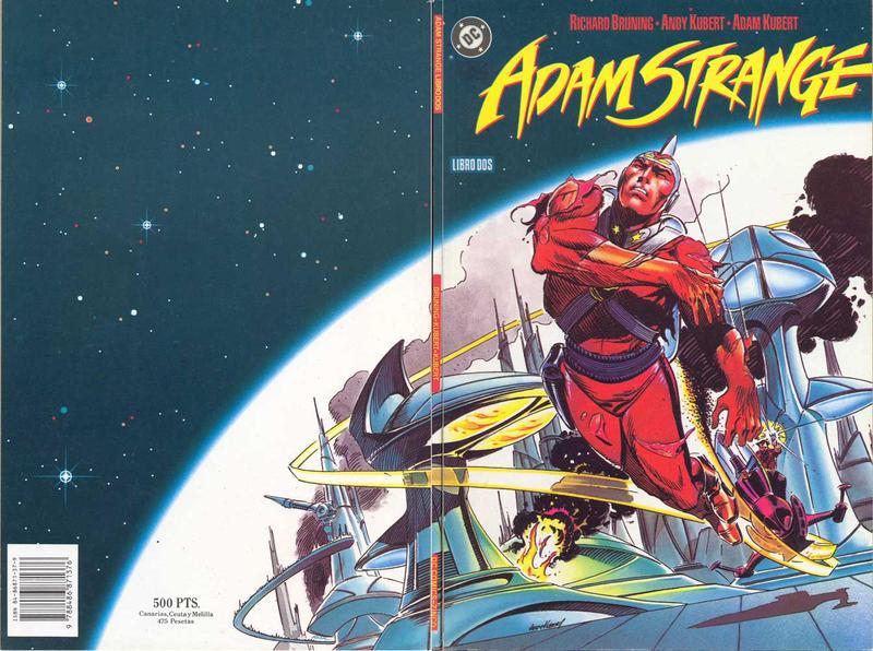 Cover for Adam Strange (Zinco, 1991 series) #2