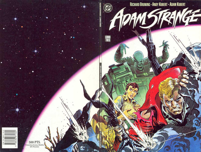 Cover for Adam Strange (Zinco, 1991 series) #3