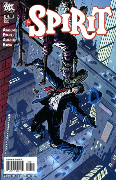 Cover for The Spirit (DC, 2007 series) #25