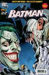 Cover for Batman (Panini Deutschland, 2005 series) #22