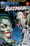 Cover for Batman (Panini Deutschland, 2004 series) #22