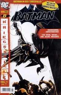 Cover Thumbnail for Batman (Panini Deutschland, 2005 series) #8