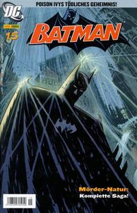 Cover Thumbnail for Batman (Panini Deutschland, 2005 series) #15
