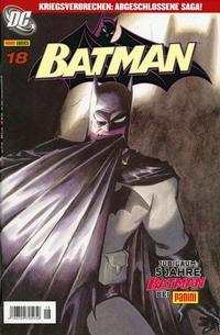 Cover Thumbnail for Batman (Panini Deutschland, 2004 series) #18