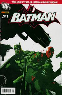 Cover Thumbnail for Batman (Panini Deutschland, 2004 series) #21