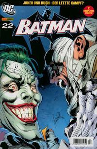 Cover Thumbnail for Batman (Panini Deutschland, 2004 series) #22