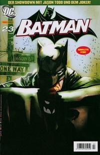 Cover Thumbnail for Batman (Panini Deutschland, 2005 series) #23