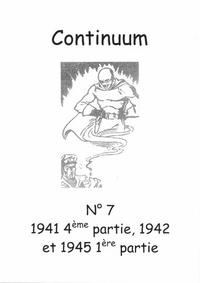 Cover for Continuum (JMF, 2007 series) #7